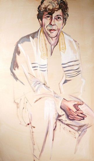 Woman in my Father's Tallit